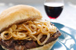 Steak And Onion Burger