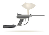 paintball gun for recreative use