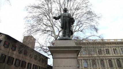 Marco Minghetti statue, Bologna
