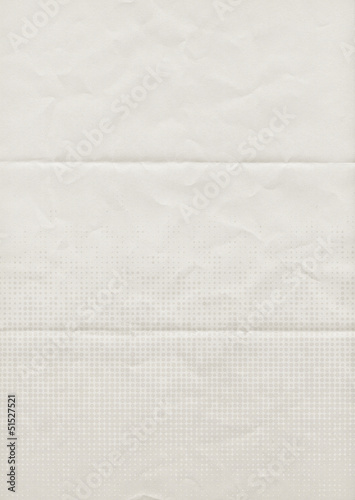 folded letter backdrop