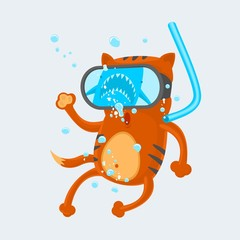 Cat Diver