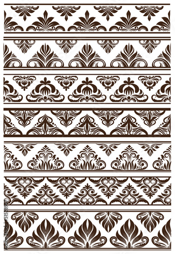 Frame Decorative Vector Set