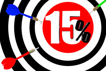 Next target  The increase in profits is 15 percent