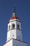 Ремонтируемая колокольня церкви Успения Пресвятой Богородицы