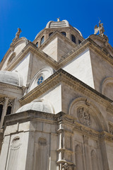 Cathedral of St. James at Sibenik, Croatia
