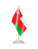 The Oman flag