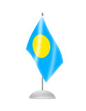 The Palau flag