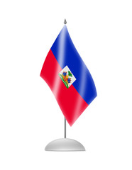 The Haiti flag