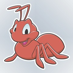 Cartoon Ant