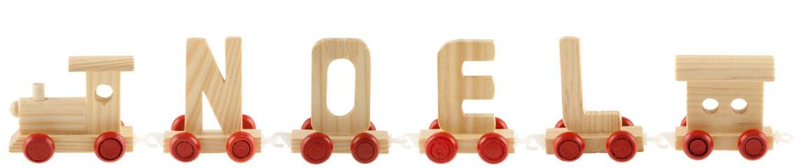 petit train jouet Noël