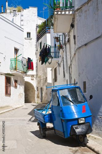 Ul. Castellaneta. Puglia. Włochy.