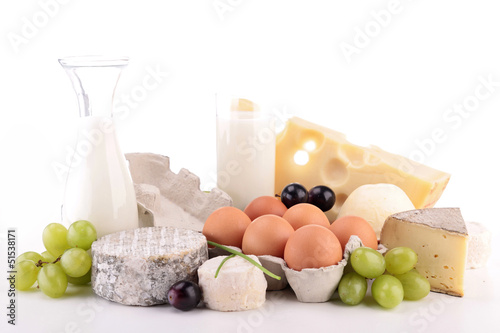 heap of dairy product - 51538171