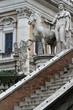 Cordonata, l'escalier du Capitole et sculptures de Michel-Ange