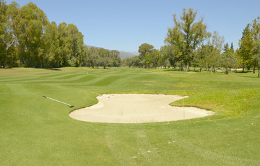 Landscape golf