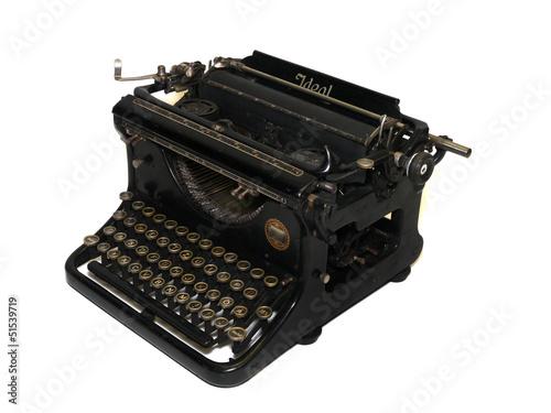 alte antive Schreibmaschine