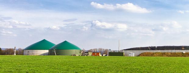 Biogasanlage - Panorama