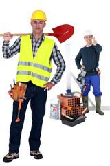 Construction duo