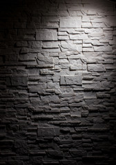 lighting brick wall