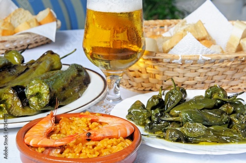 Selection of Spanish Tapas © Arena Photo UK