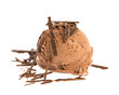 Eiskugel: Schokolade mit Schokoladenstreusel