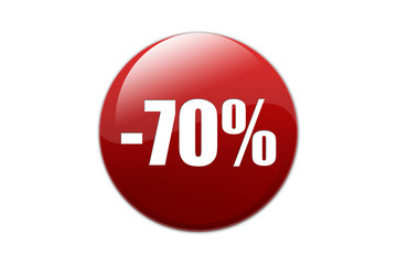 Bouton -70%