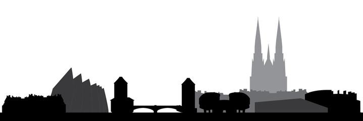 strasbourg skyline