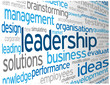 """LEADERSHIP"" Tag Cloud (business excellence success challenge)"