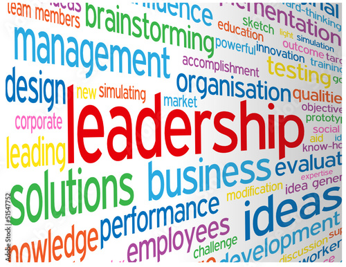 """""""LEADERSHIP"""" Tag Cloud (business excellence success solutions)"""