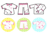 Different styles of Tshirt and Pants, Sets. Baby and Children Go