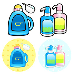 Various styles of Shampoo and Conditioner Sets. Household Items