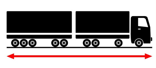 long truck gigaliner