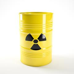 radioactive barell