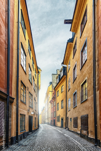 The Old Town in Stockholm