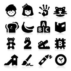 Preschool Icons