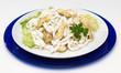 Antipasto , seppie con carciofi - Cuttlefish with artichokes