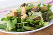 crouton over salad