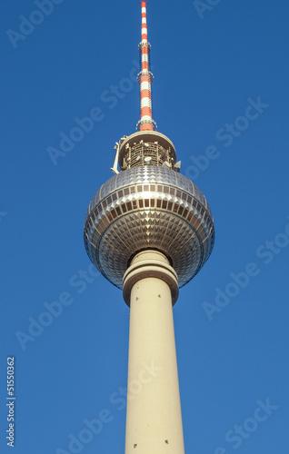 Television Tower in Alexanderplatz, Berlin