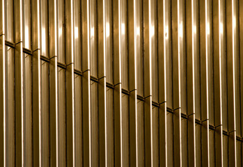 golden parallel lines