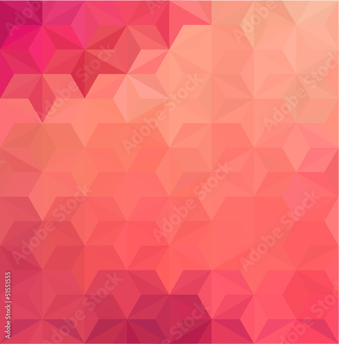 Sticker Abstract Geometrical Background
