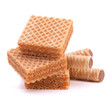 Wafers or honeycomb waffles