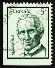 Postage stamp Australia 1968 Edgeworth David, Geologist
