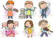 Professions kids set 2