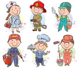Professions kids set 3