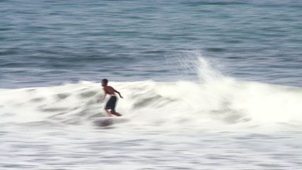 surfer in action