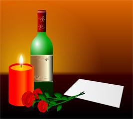 romantischer Abend