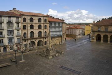 Plaza mayor de Soria. España