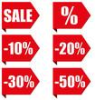 Ecken Slogans - Sale - 50 Prozent