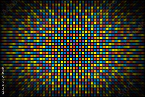 6955a65728b7 Sfondo a quadretti colorati con distorsione