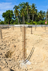 Piles in construction