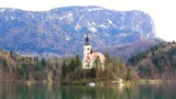 Lake Bled, Slovenia, Europe.